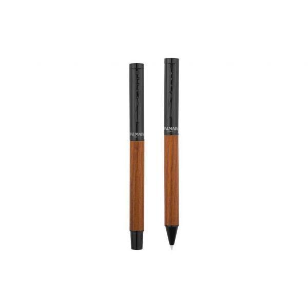 Woodgrain Duo Metal Pen Set Office Supplies Pen & Pencils Stationery Sets FPM6042BBK-2