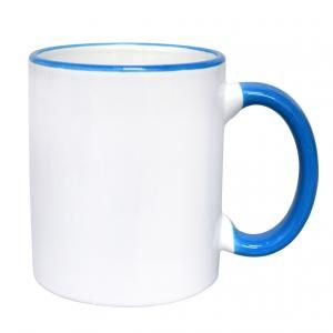 Border Ceramic Mug Household Products Drinkwares HDC6002WWB