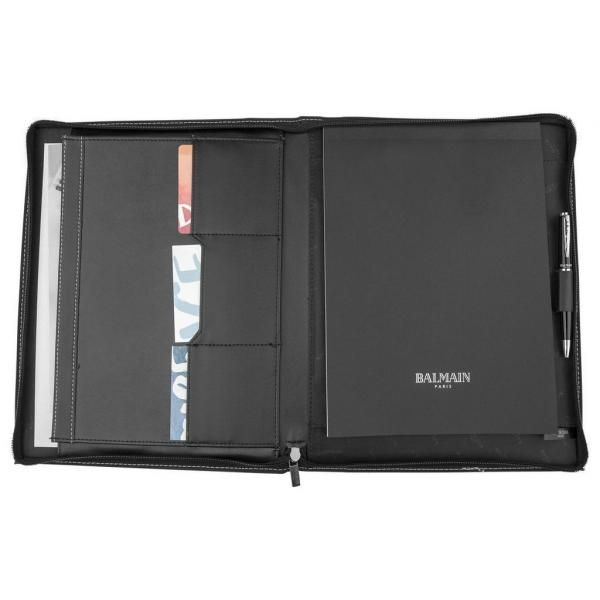 Millau A4 Zipper Leather Portfolio Small Leather Goods Office Supplies Leather Folder / Portfolio Other Leather Related Products Files & Folders Other Office Supplies Other Office Supplies LFO6000-3