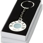 Metal Keychain Keychains MKY6002SLV