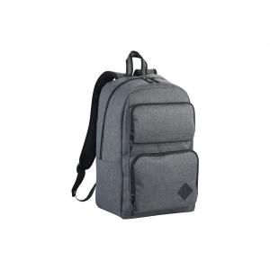 """Graphite Deluxe 15.6"""" Laptop Backpack Computer Bag / Document Bag Haversack Travel Bag / Trolley Case Bags TCB6013-GRY-20180503-1"""