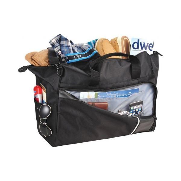 Vault RFID Travel Duffel Bag Travel Bag / Trolley Case Bags TTB6007-BLK-20180503-4