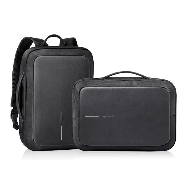 Bobby Bizz Anti-Theft Backpack & Briefcase with strap Computer Bag / Document Bag Haversack Travel Bag / Trolley Case Bags Crowdfunded Gifts THB1122HD