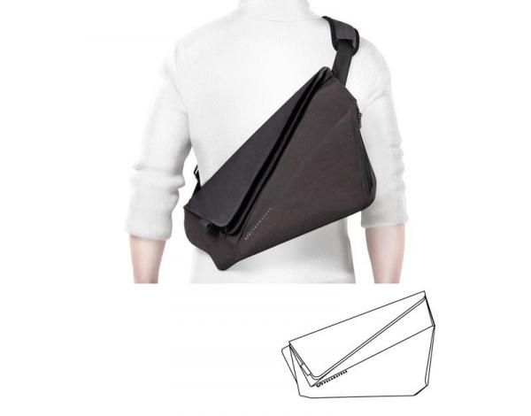 NIID X UrbanNature Fold Computer Bag / Document Bag Haversack Travel Bag / Trolley Case Bags Promotion Crowdfunded Gifts TSB1019-01