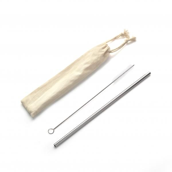 Straight Stainless Steel Straw 1pcs with brush Household Products Drinkwares Others Household NATIONAL DAY HKC1009HD_1