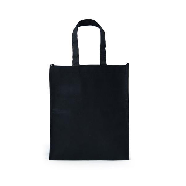 Portrait Non-Woven Bag Tote Bag / Non-Woven Bag Bags TNW1002_BlackHD
