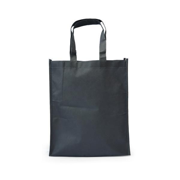 Portrait Non-Woven Bag Tote Bag / Non-Woven Bag Bags TNW1002_DarkGreyHD