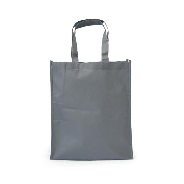 Portrait Non-Woven Bag Tote Bag / Non-Woven Bag Bags TNW1002_LightGreyHD