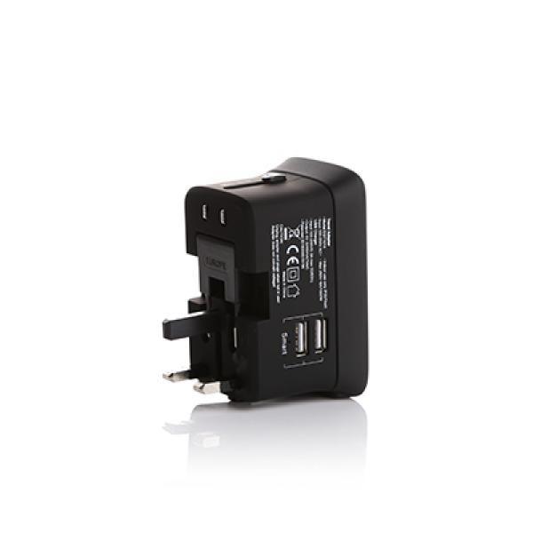 Kirby Travel Adapter with Powerbank Electronics & Technology Gadget Best Deals EGT1014_BLACK_SIDE2_400X400