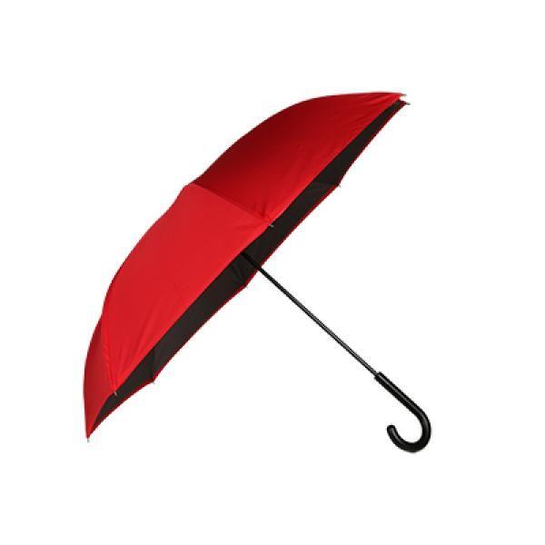 Brevity Auto Close Inverted Umbrella Umbrella Straight Umbrella Best Deals UMS1002Thumb_Red2