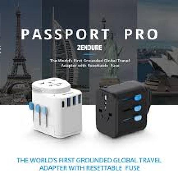 Zendure Passport Pro Travel Adapter Electronics & Technology Gadget Crowdfunded Gifts untitled