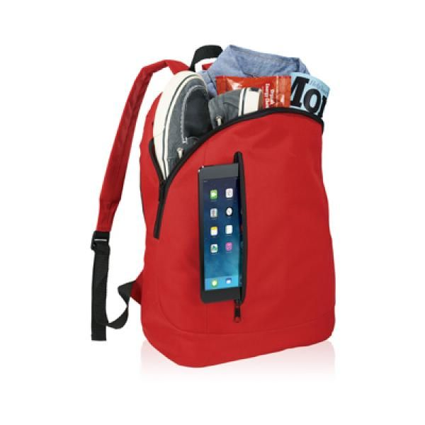 The Boulder Tablet Backpack Computer Bag / Document Bag Bags TCB6010RED_3_thumb