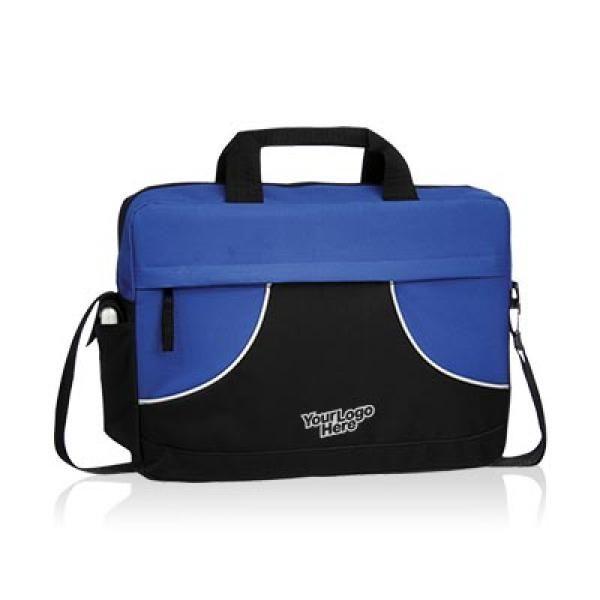 Quill Meeting Brief Computer Bag / Document Bag Bags TDB6006BLB_logo_thumb