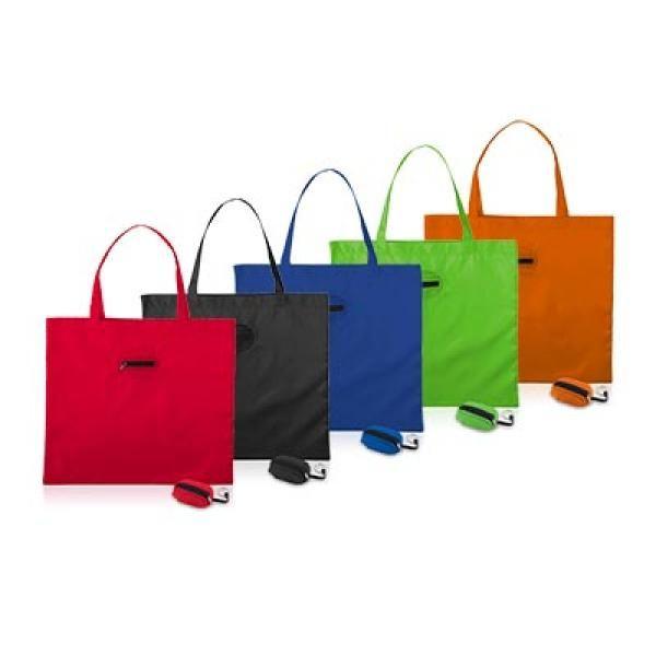 Takeaway Fold Up Shopper Tote Bag Tote Bag / Non-Woven Bag Bags Eco Friendly TNW6004GRP2_thumb