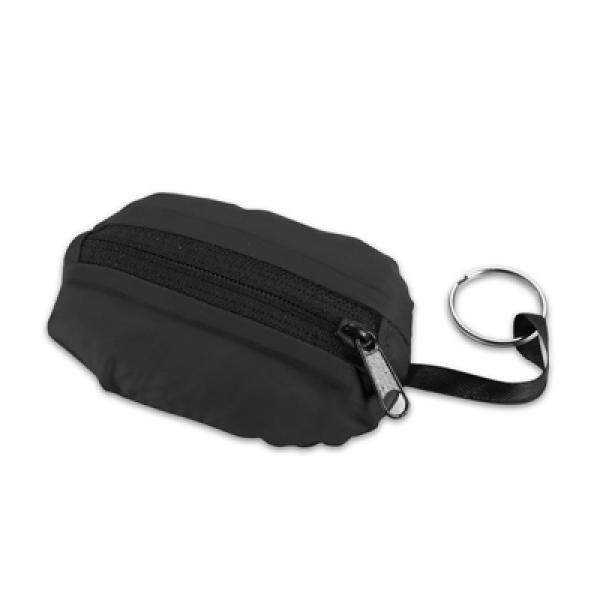 Takeaway Fold Up Shopper Tote Bag Tote Bag / Non-Woven Bag Bags Eco Friendly TNW6004BLK_1_thumb