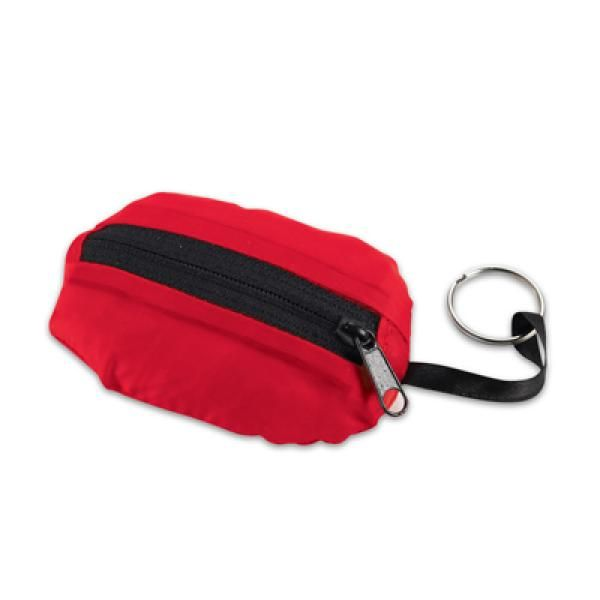 Takeaway Fold Up Shopper Tote Bag Tote Bag / Non-Woven Bag Bags Eco Friendly TNW6004RED_1_thumb