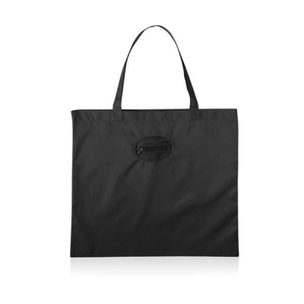 Takeaway Fold Up Shopper Tote Bag Tote Bag / Non-Woven Bag Bags Eco Friendly TNW6004BLK_2_thumb