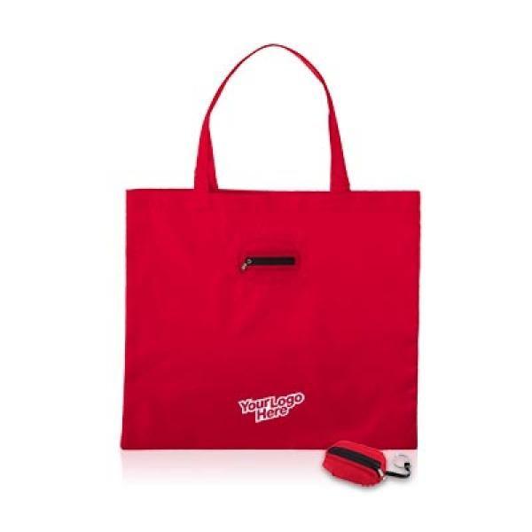 Takeaway Fold Up Shopper Tote Bag Tote Bag / Non-Woven Bag Bags Eco Friendly TNW6004_logo_thumb