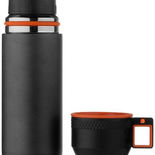 Nakiska Vacuum Isolating Stainless Steel Flask Household Products Drinkwares HDF6002BLK-2
