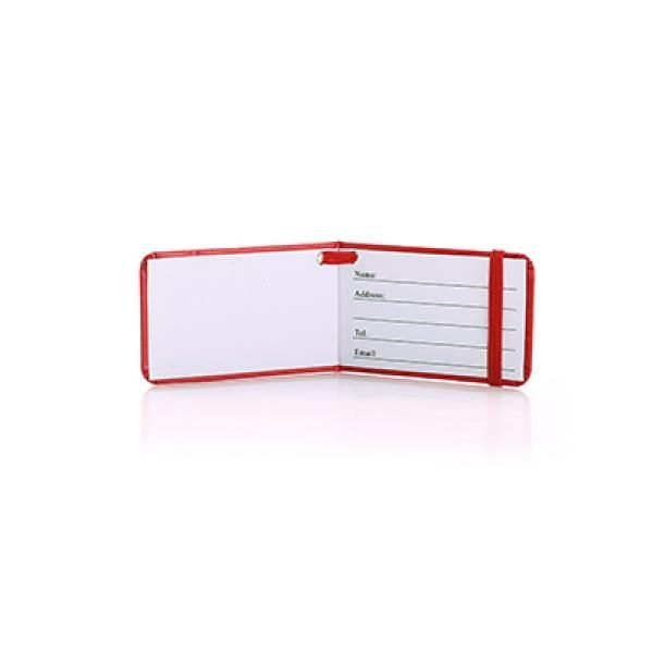 Tripz Luggage Tag Travel & Outdoor Accessories Luggage Related Products OLR6004Thump_Red