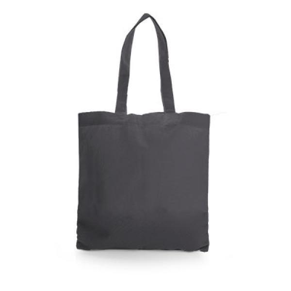 Non Woven Small Zeus Convention Tote Bag Tote Bag / Non-Woven Bag Bags Earth Day TNW6002Thumb_Blk