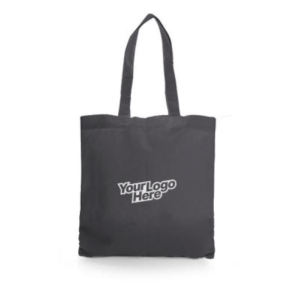 Non Woven Small Zeus Convention Tote Bag Tote Bag / Non-Woven Bag Bags Earth Day TNW6002Thumb_Blk_1