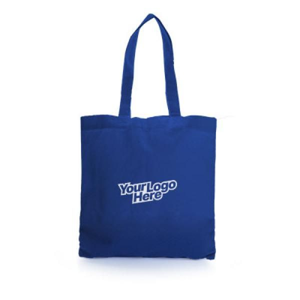 Non Woven Small Zeus Convention Tote Bag Tote Bag / Non-Woven Bag Bags Earth Day TNW6002Thumb_Blu_1