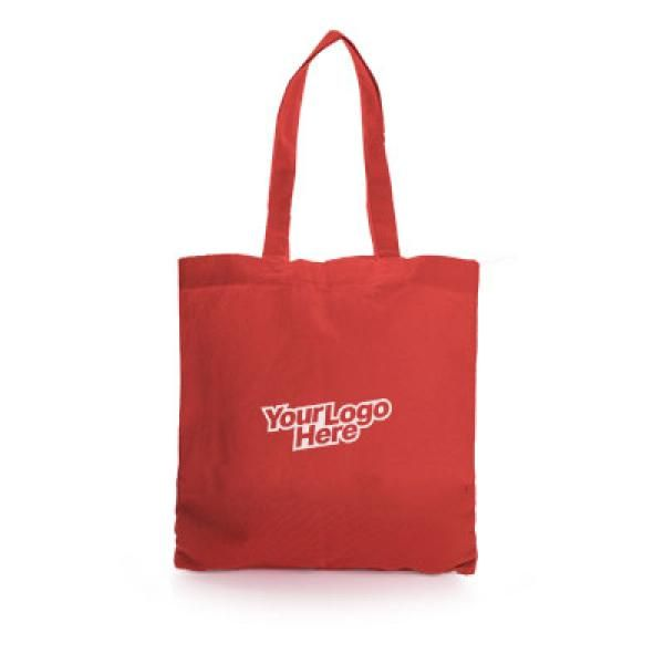 Non Woven Small Zeus Convention Tote Bag Tote Bag / Non-Woven Bag Bags Eco Friendly TNW6002Thumb_Red_1