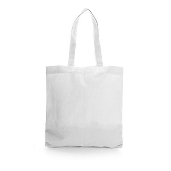 Non Woven Small Zeus Convention Tote Bag Tote Bag / Non-Woven Bag Bags Earth Day TNW6002Thumb_Wht