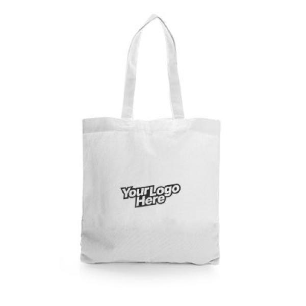 Non Woven Small Zeus Convention Tote Bag Tote Bag / Non-Woven Bag Bags Earth Day TNW6002Thumb_Wht_1
