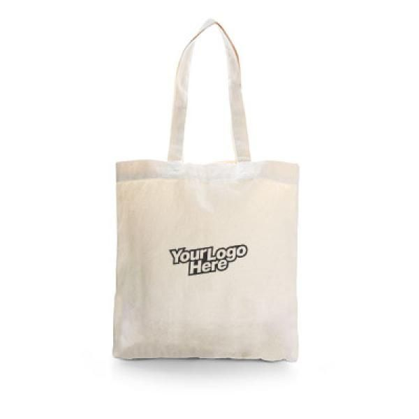 Carolina Cotton Tote Bag Tote Bag / Non-Woven Bag Bags RACIAL HARMONY DAY Eco Friendly TNW6001Thumb_Bei_1