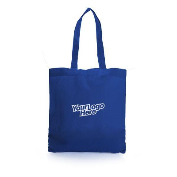 Carolina Cotton Tote Bag Tote Bag / Non-Woven Bag Bags RACIAL HARMONY DAY Eco Friendly TNW6001Thumb_Blu_1