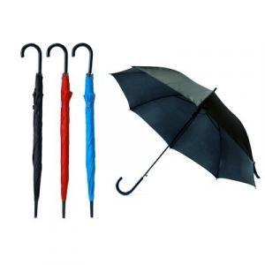 "Prescient 24"" Auto Open Straight Umbrella Umbrella Straight Umbrella UMS1302"