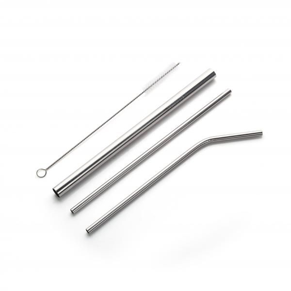 Stainless Steel Straw 4pcs set Household Products Drinkwares Others Household Metals & Hardwares Other Metal & Hardwares NATIONAL DAY Eco Friendly HKC1006_HD-3