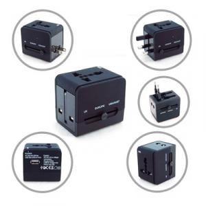 Worldwide Travel Adaptor with USB Hub Electronics & Technology Gadget Largeprod764