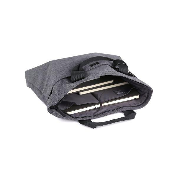 One Flat Briefcase Computer Bag / Document Bag Bags TDB1012-DGY-LX_2_R1HD