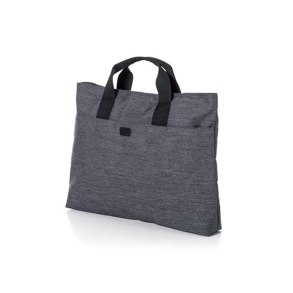 One Flat Briefcase Computer Bag / Document Bag Bags TDB1012-DGY-LX_R1HD
