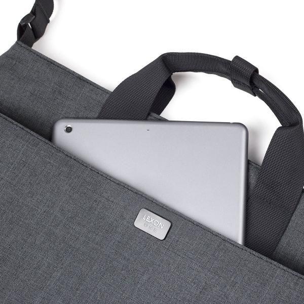 One Document Bag Computer Bag / Document Bag Bags TDB1013-DGY-LXLaptop_R1HD