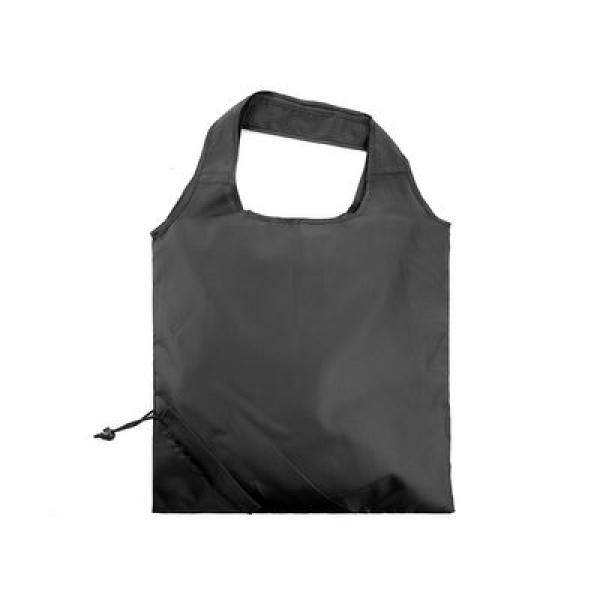 The Bungalow Foldaway Shopper Tote Tote Bag / Non-Woven Bag Bags TNW6009BlackThumb