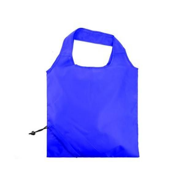The Bungalow Foldaway Shopper Tote Tote Bag / Non-Woven Bag Bags TNW6009BlueThumb