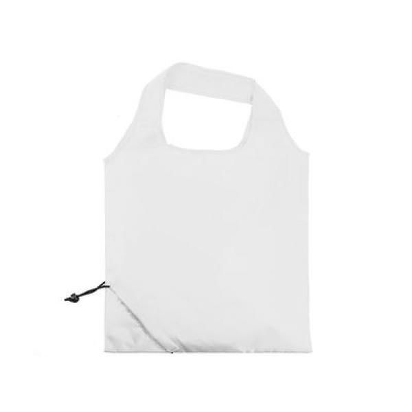 The Bungalow Foldaway Shopper Tote Tote Bag / Non-Woven Bag Bags TNW6009WhiteThumb