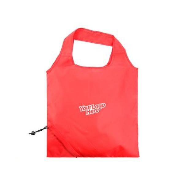 The Bungalow Foldaway Shopper Tote Tote Bag / Non-Woven Bag Bags TNW6009LogoThumb