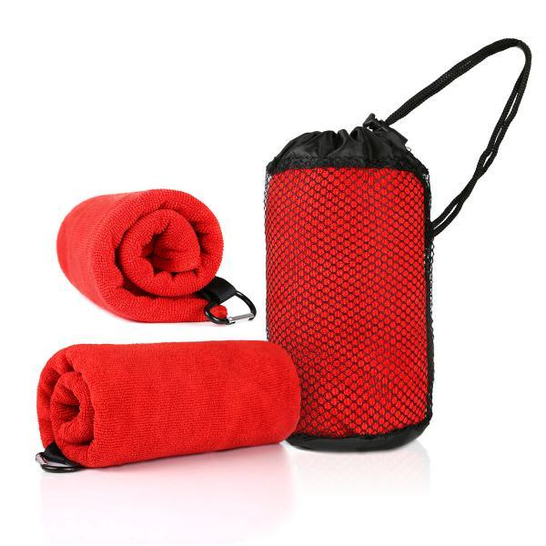 Qvosoft Microfibre Towel Towels & Textiles Towels WSP1005_RedHD