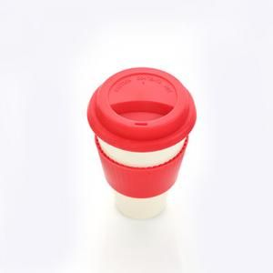 Bamboo Fibre Mug with Lid & Sleeve Household Products Drinkwares AA1