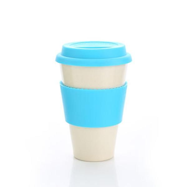 Bamboo Fibre Mug with Lid & Sleeve Household Products Drinkwares AA2