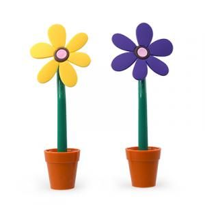 Sweet Flower Pen With Stand Office Supplies Pen & Pencils RACIAL HARMONY DAY Largeprod1177