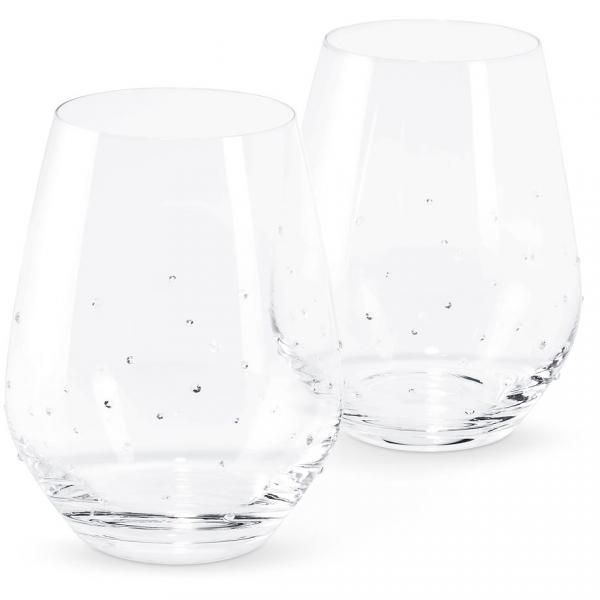 Water Glass with Set of 2 Household Products Drinkwares hdg1002
