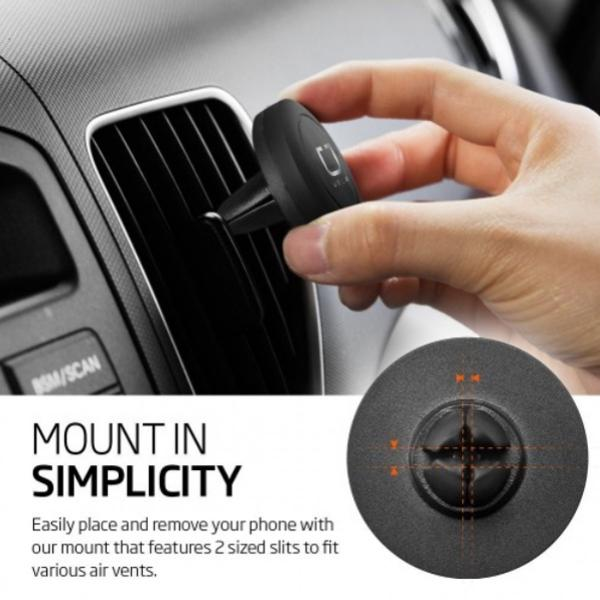 BND400 Universal Magnetic Car Vent Mount Electronics & Technology Gadget Travel & Outdoor Accessories Other Travel & Outdoor Accessories EGC1000-BLK-5