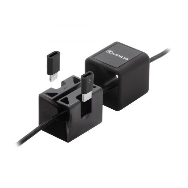 BND831 Desktop Universal Charging & Sync Cable Electronics & Technology Other Electronics & Technology Gadget EMA1014-BLK-2
