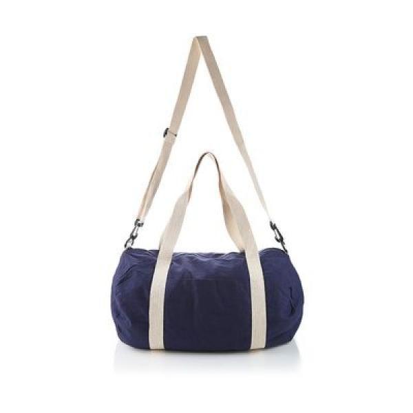 The Cotton Barrel Duffel Travel Bag / Trolley Case Bags Give Back TTB6010_BlueThumb1